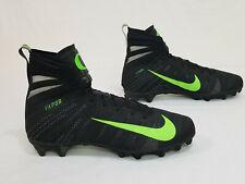 278d0dd0b8fb NEW Oregon DUCKS Football TEAM ISSUED Nike Vapor Flyknit HIGHTOP CLEATS  Men s 15