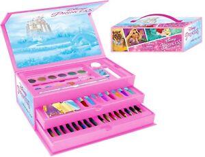 Disney Princess 52 Piece Colouring Case Art Case