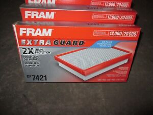 Lot of 6 New FRAM CA7421 Extra Life Automotive Air Filter