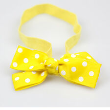 Elastic Hair Band Baby Girl Bow Headwear For Reborn Dolls Accessories