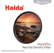 Haida 67mm NanoPro MC ND1000 Filter Neutral Density ND 67 10 Stop ND3.0 NEW