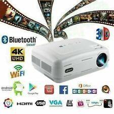 DE DHL # 12000 Lumen Heimkino Projektor Beamer HDMI home theater FHD 1080P Media