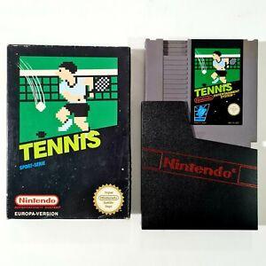 NES Spiel TENNIS dt. PAL Nintendo Entertainment System Sport Serie/Mehrspieler