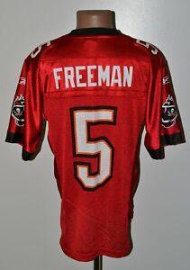 NFL LAMPA BAY BUCCANEERS AMERICAN FOOTBALL SHIRT #6 FREEMAN REEBOK SIZE S ADULT