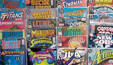 6 x DC COMICS - 70s to 00s - ALL DIFFERENT - Batman, Superman, JLA, Flash etc