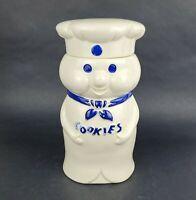 "1973 Vintage Pillsbury Doughboy Poppin' Fresh Cookie Jar Ceramic 10.5"""