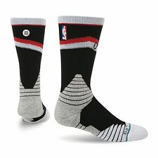 Stance $26 Socks Fusion NBA Basketball Core Crew Blazers Portland black-red L #2