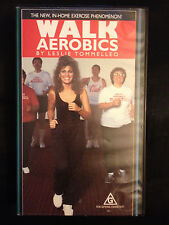 WALK AEROBICS with LESLIE TOMMELLEO ~ PAL VHS VIDEO