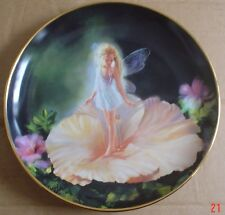 Danbury Mint Collectors Plate FLOWER CHILD From THE ENCHANTED GARDEN
