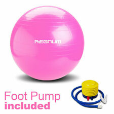 Exercise Gym Yoga Swiss Ball Fitness Pregnancy Birthing Anti Burst 85cm Pink