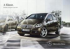 Preisliste Mercedes A-Klasse 4.4.11 Autopreisliste 2011 Preise A 200 180 160 CDI