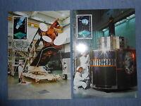 SPACE satellite Olympus, Meteosat, MAXIMUM CARD Liechtenstein 2x maxicard