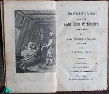 Engelhardt-Denkwürdigkeiten procedentes de la historia sajonas 1799 - 2 tomos-XZ