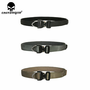 Emerson 1.75 Inch Tactical D-Ring Riggers Belt Military Quick Release Buckle Men