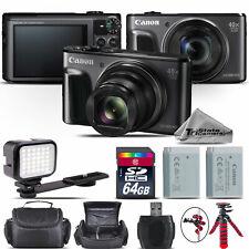 Canon PowerShot SX720 Digital Camera 20.3MP 40x Optical NFC / WiFi - 64GB Kit