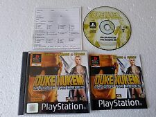 PSX SONY PLAYSTATION DUKE NUKEM : LAND OF THE BABES ( FRANCAISE )