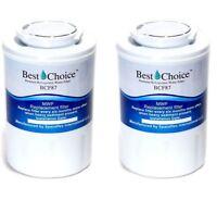 2-Pack Refrigerator Water Filter Fits GE MWF MWFA WSG-1 MWF-INT PL-100 EG-1 MWFP