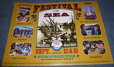 FESTIVAL OF THE SEA poster Sep 1998 Hyde Street Pier San Francisco Maritime Boat