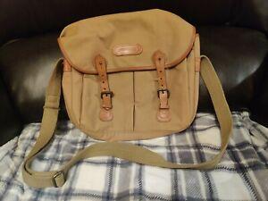 Billingham Camera Bag Canvas/Khaki Large Excellent Condition
