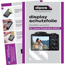 6x dipos Canon Powershot SX510 Film de protection d'écran cristal clair
