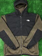 THE NORTH FACE Vented Denali Polartec Fleece Jacket Olive Green EUC Sz L Large