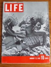 Life Magazine Dutch East Indians & Hull Upholds Trade Act House Jan. 22 1940 142