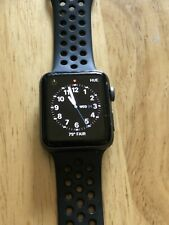 Apple MTF42LL/A Series 3 42mm Watch Space Gray w/Nike Sport Band (GPS+T-Mobile)