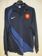 Maillot rugby EQUIPE de FRANCE quinze NIKE coton vintage shirt 2007 XL