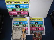 Beatles Sgt Pepper's EU CD in Limited 1967 Pepper Session Box Lennon McCartney