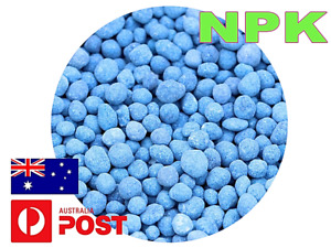 PREMIUM NPK FERTILISER BLUE GRANULATED NITROPHOSKA SOLUBLE FREE FAST SHIPPING