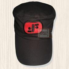 V Series Militar Black Hat Visitor Lizard Logo Cap Donovan Diana Embroidered