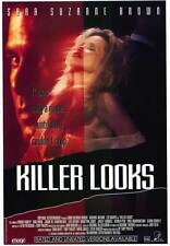 KILLER LOOKS Movie POSTER 27x40 Michael Artura Sara Suzanne Brown Len Donato