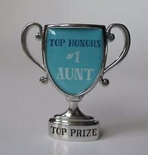 i Top Honors #1 Aunt auntie MINI DESK TROPHY FIGURINE ganz