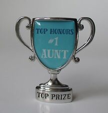 i Top HOnors #1 Aunt auntie MINI DESK TROPHY FIGURINE ganz
