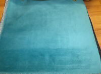 Velvet upholstery fabric color turquoise 54 wide (by the yard) sofas & chairs