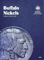 Whitman Buffalo Nickel Coin Folder 1913-1938 #9008