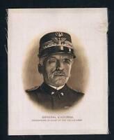 1915 ITC Great War Leaders Tobacco Card General Cadorna Italian Army