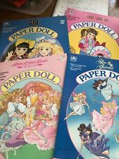 Uncut paper doll lot Punky Brewster, Star Fairies, Lady Lovely Locks, Hot Looks