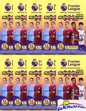 (10) 2020/21 Panini Adrenalyn Premier League Soccer Factory Sealed Packs-60 Card