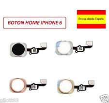 Flex Cable Boton Home Menu para Apple Iphone 6 Negro, Blanco Oro