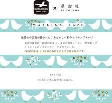 Washi tape masking tape MT X Seitousha Blue Birds Scrapbook DIY