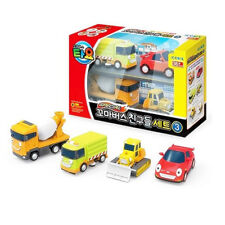 Tayo The Little Bus Friends Special Set Ⅲ ( 4 Cars: Speed  Luvy Billy  Chris )