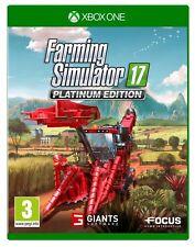 Landwirtschafts-Simulator 17 Platinum Edition - Xbox One - NEU OVP