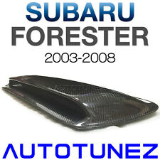 Carbon Fiber Air Intake Vent Hood Scoop Bonnet For Subaru Forester SG 2003-2008