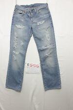 Levis 511 slim rotture boyfriend wild boar jeans usato (Cod.E556) Tg 45 W31 L34