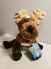 """NWT Ganz Webkinz 8.5"""" Plush Reindeer , sealed tag"""