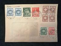 Deutschland Alliierte Besetzung 06.02.1946 - Brief Einschreiben Dresden