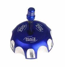 BLUE CNC BILLET FUEL GAS CAP YAMAHA YZ450F YZ250F YZ 450F WR YZ125 YZ250 125/250