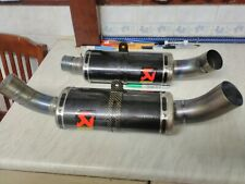Yamaha R1 2004-08 5vy/ 4c8 Kit Car/special build Akrapovic oval Carbon Exhausts