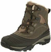 LADIES MERRELL SNOWBOUND MID WATERPROOF DARK EARTH HIKING TRAIL BOOTS UK 3-8